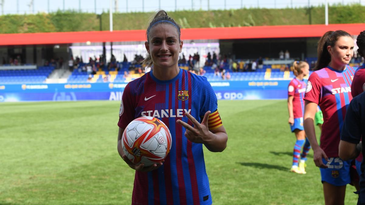 ¡Estelar Alexia Putellas! No te pierdas su hat-trick en cuatro minutos ante el Valencia