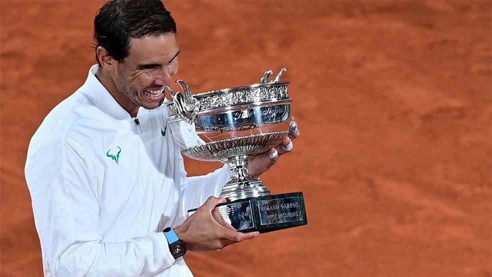 ¡Histórico! Nadal conquista su decimotercer Roland Garros