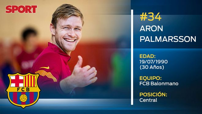 Aron Palmarsson (FC Barcelona balonmano)