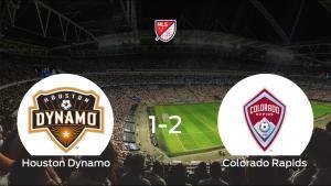 El Colorado Rapids deja sin sumar puntos al Houston Dynamo (1-2)