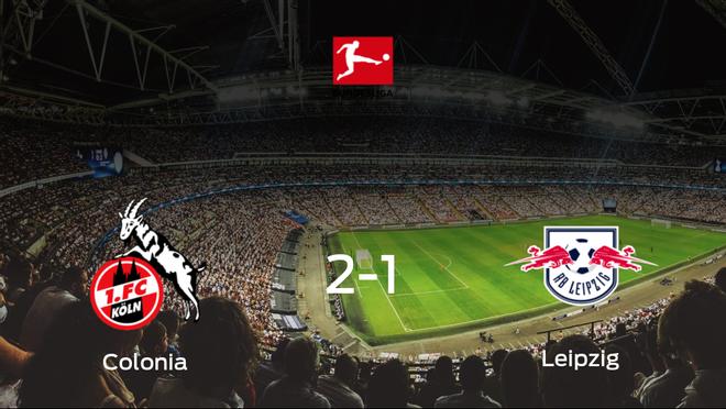 El Colonia consigue la victoria en casa frente al RB Leipzig (2-1)