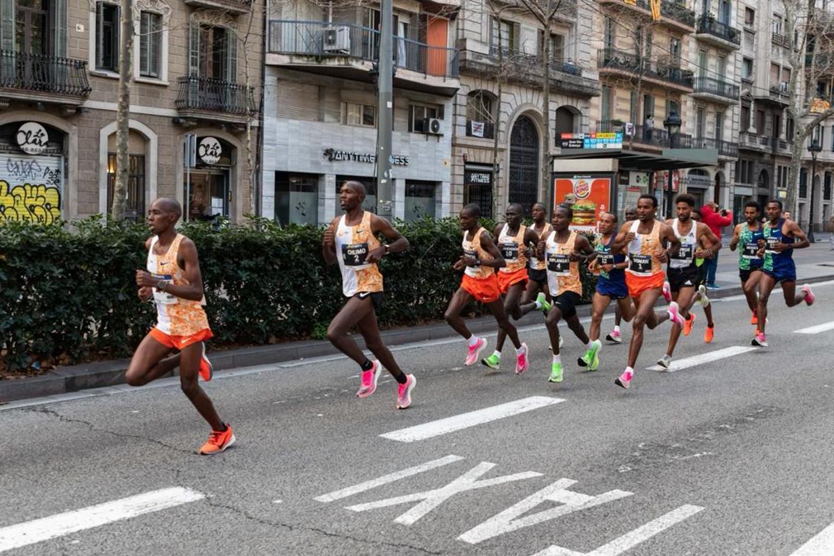 La Mitja recupera el pulso en Barcelona