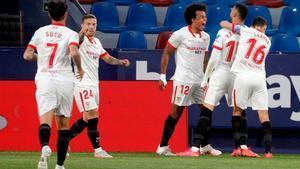 El Sevilla sigue en la pelea por la Liga