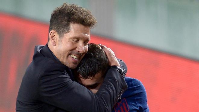 Simeone, tras empatar ante el Betis: Me encanta este momento, me encanta