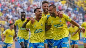 El resumen del partido entre Las Palmas y el Tenerife