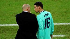 James nunca ha sido del agrado de Zidane