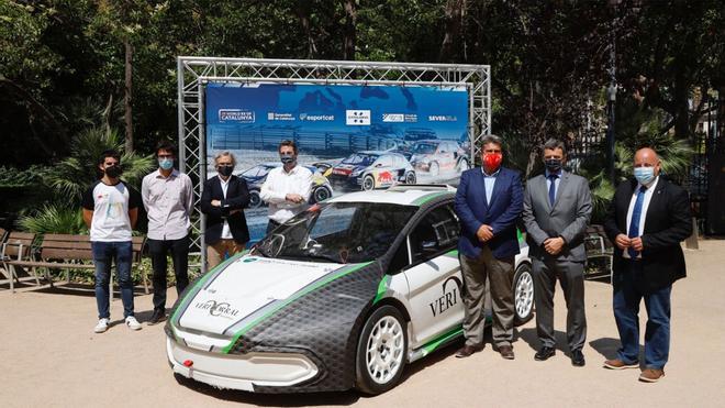 La cita inaugural del Mundial de Rallycross se ha presentado en Barcelona este miércoles