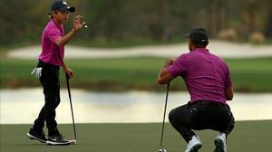 Tiger Woods: Jugar junto a mi hijo Charlie ha sido increíble