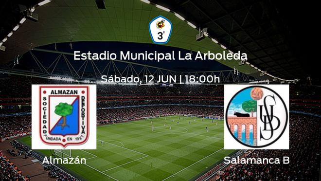 Previa del encuentro: el Almazán defiende el liderato ante el Salamanca CF B