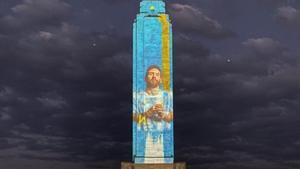 ¡PONE LOS PELOS DE PUNTA! Así fue el homenaje a Leo Messi en Rosario antes de la final de la Copa América