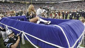 Mariah Carey fue parte de la NFL