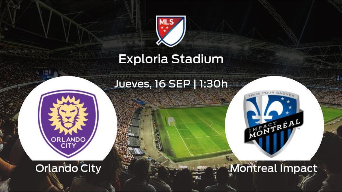 Previa del encuentro de la jornada 32: Orlando City - Montreal Impact
