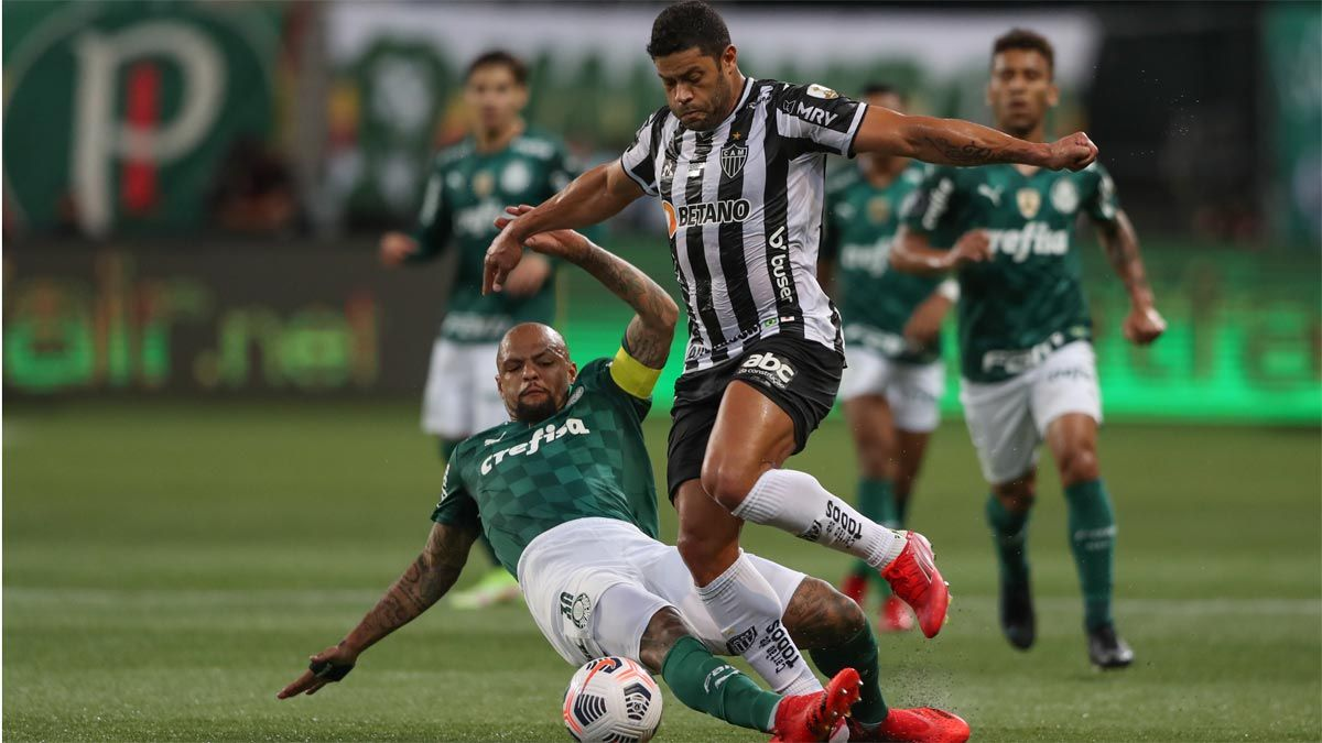 Felipe Melo y Hulk, un duelo en el que volverán a saltar chispas