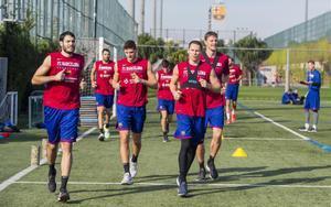 El Barça realizó trabajo físico en la Ciutat Esportiva