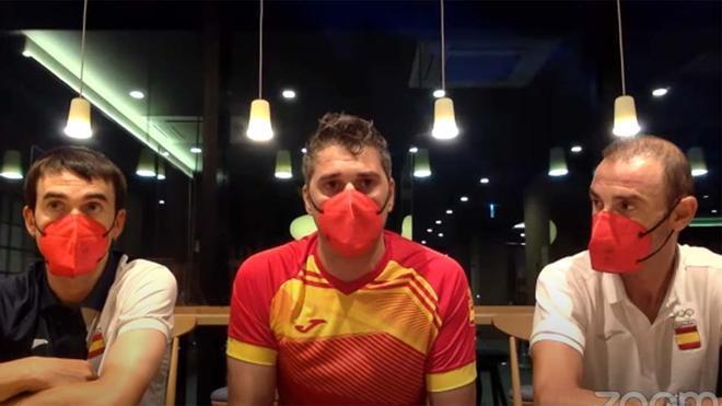 Valverde, durante la comparecencia ante los medios