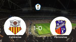 Victoria del Collerense por la mínima frente al Ferriolense (1-0)