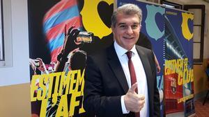 Joan Laporta busca su segunda etapa al frente del FC Barcelona