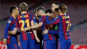 El Barcelona aún se mantiene con un paso perfecto en Champions League