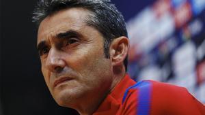 Valverde restó importancia a las ausencias de Aleix Vidal
