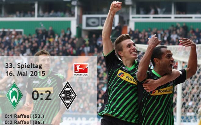Gladbach se mete en la Liga de Campeones