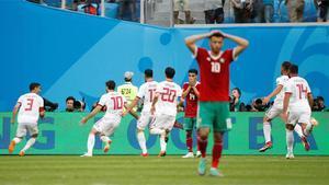 Rusia 2018 | Irán gana en el 95 gracias a un gol de Marruecos en propia puerta