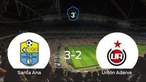Los tres puntos se quedan en casa: Santa Ana 3-2 Unión Adarve