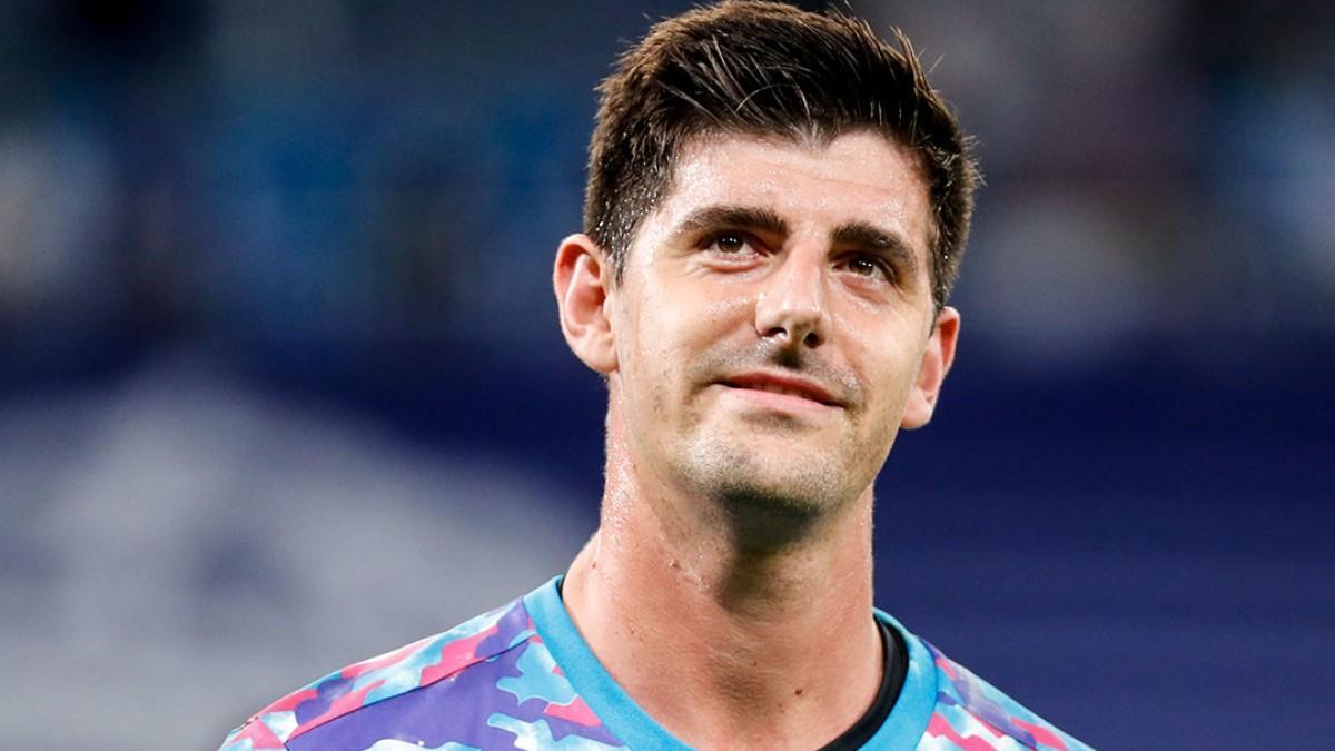 Courtois volvió a dejar la portería a cero ante el Villarreal
