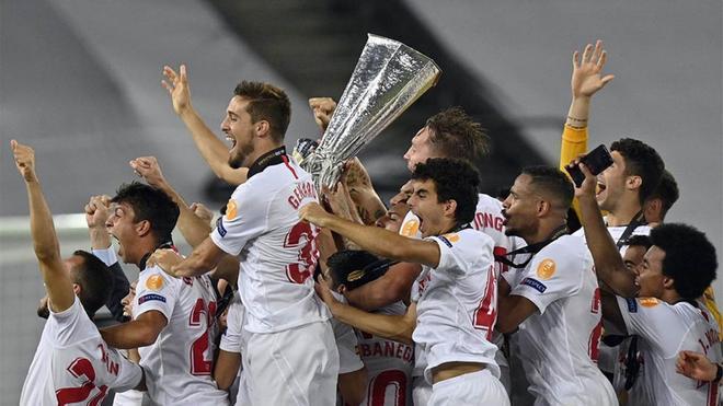 El Sevilla lidera el palmarés de la Europa League