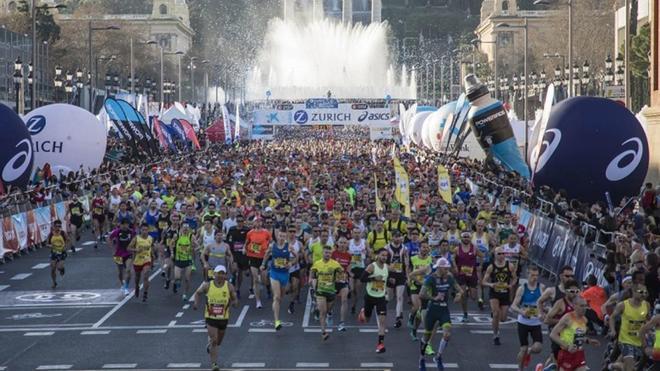 El Maratón Barcelona se adapta a los nuevos tiempos