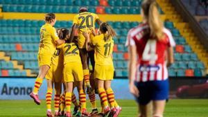 El Barça eliminó al Atlético en semifinales de Supercopa el curso pasado