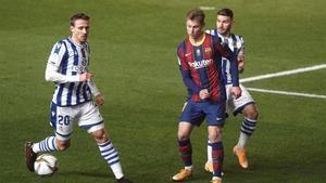 De Jong marcó ante la Real en la Supercopa