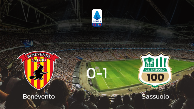 Triunfo del Sassuolo ante el Benevento (0-1)