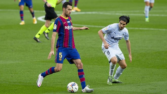 Busquets está a un partido oficial de los 600 con la camiseta del FC Barcelona