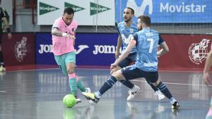 Ximbinha durante un duelo de esta temporada ante Inter Movistar