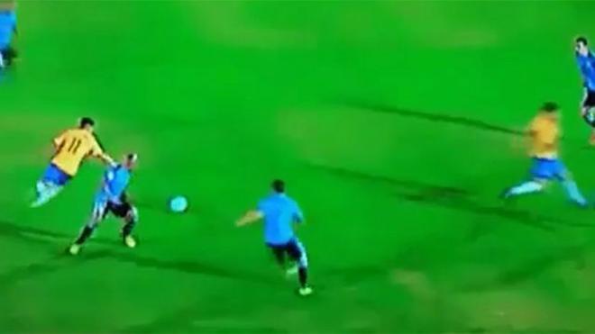 Coutinho mostró su calidad contra Uruguay