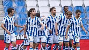 La Real Sociedad aplasta al Valladolid