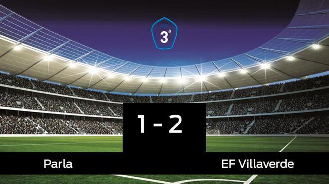 El Villaverde derrotó al Parla por 1-2