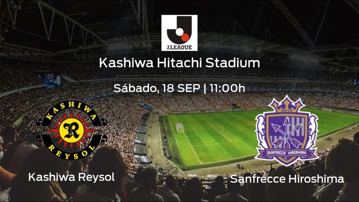 Previa del encuentro de la jornada 29: Kashiwa Reysol - Sanfrecce Hiroshima