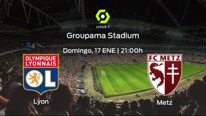 Previa del encuentro: el Olympique Lyon defiende el liderato ante el FC Metz