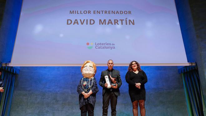 David Martín: Premio Mejor Entrenador