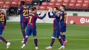 El 11 del Barça ante el Valencia