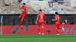 Rafa Mir dio la victoria al Sevilla en Balaídos
