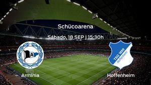 Previa del partido de la jornada 5: Arminia Bielefeld - Hoffenheim
