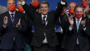 Las imágenes de la jornada electoral en el FC Barcelona