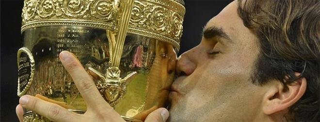 Federer conquistó Wimbledon por séptima vez