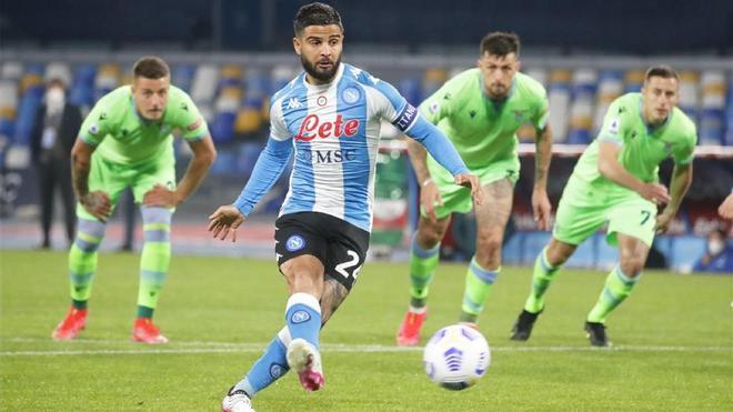 Lorenzo Insigne, capitán y referente ofensivo del Nápoles