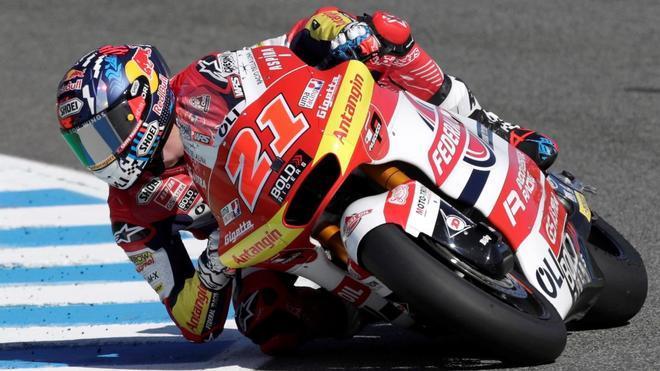 Di Giannantonio declas Moto2