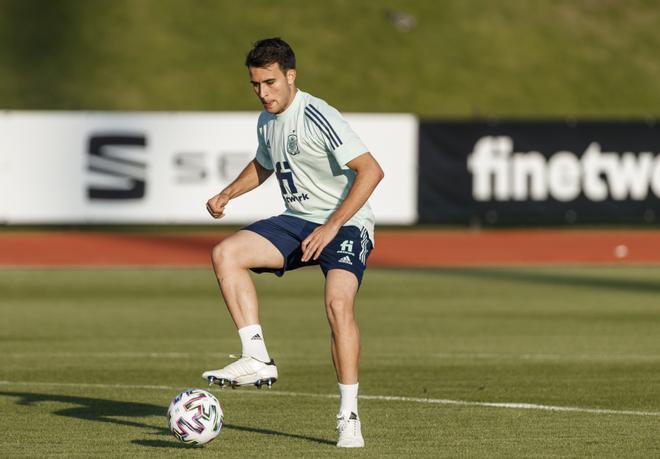 Eric García se encuentra disputando la Eurocopa