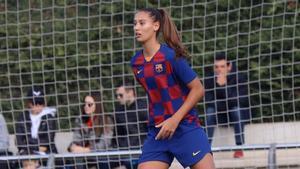 Berta Bou, defensa del F.C Barcelona B