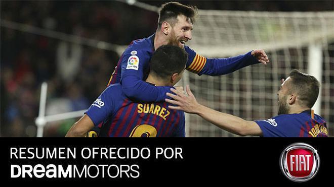 El resumen completo del espectacular 6-1 del Barça al Sevilla